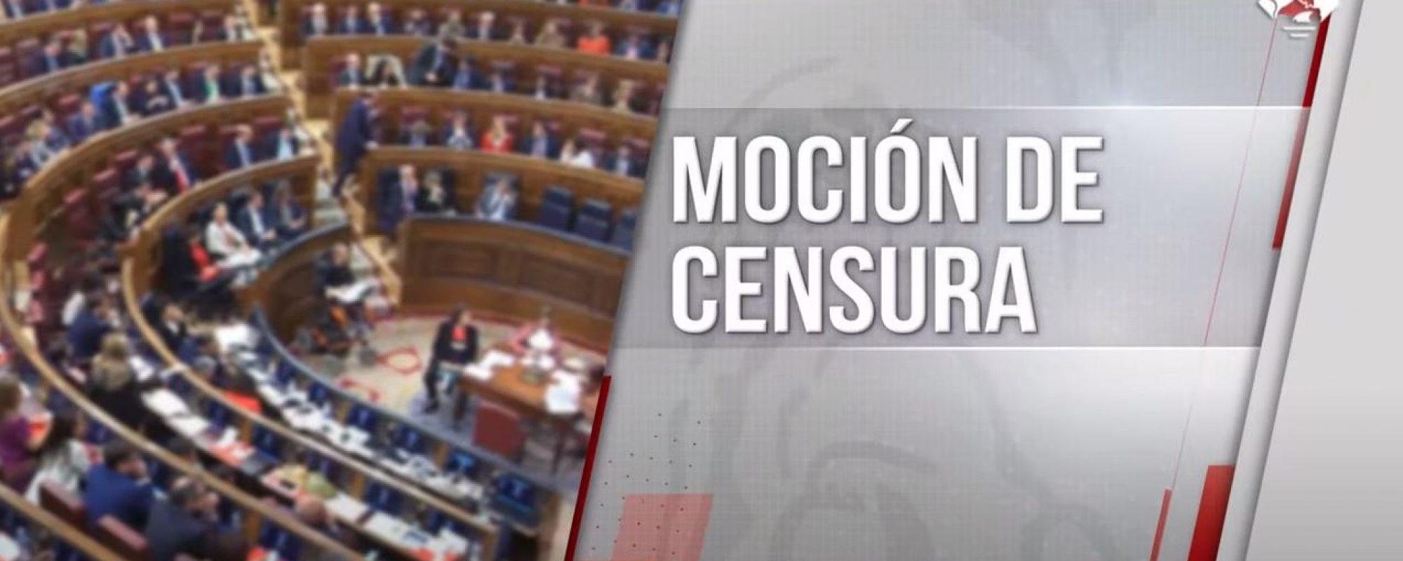Moción de censura de Vox, Octubre 2020